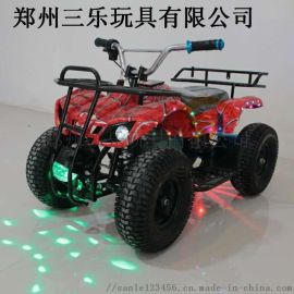 电动四轮电瓶车儿童游乐新款拖拉机玩具车