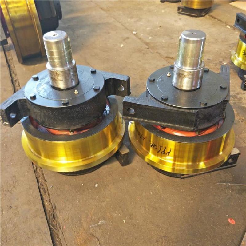 315*100行车车轮组 起重机主动被动车轮组