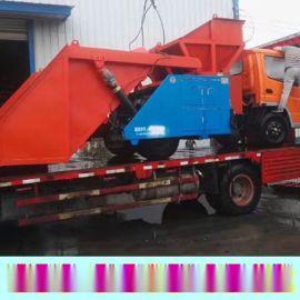 山东青岛市混凝土喷浆车信誉保证喷浆机钢衬板