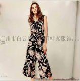 歐美風格婉楓品牌正品女裝18年夏裝庫存走份
