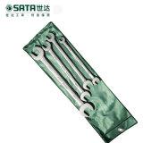 SATA 世达4件全抛光双开口扳手组套