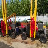 广州小四轮打桩机原理图片和安装流程