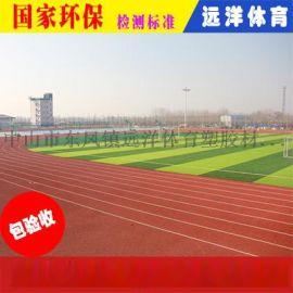 柳州混合型塑胶跑道厂家直销   跑道造价