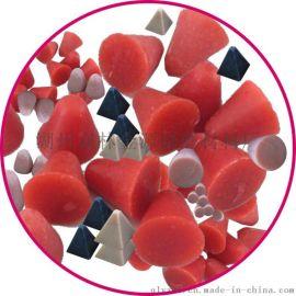 各色树脂磨料塑胶研磨石专业生产厂家
