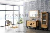 现代浴室柜什么牌子好-高档欧式浴室柜品牌-江门市阿