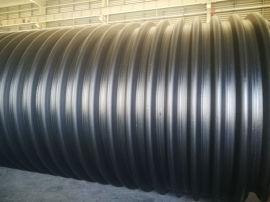 钢带波纹管直销 PE钢带管批发 定制钢带增强管