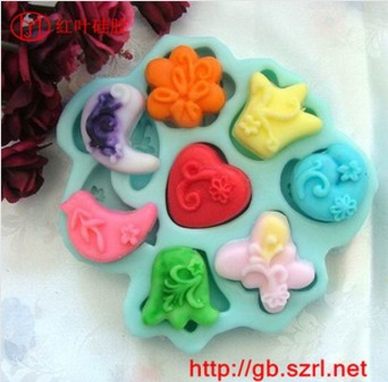 红叶315#盐雕糖艺模具专用硅胶 食品硅胶