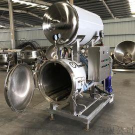 春泽机械**瓶装发酵酱水浴式高温高压杀菌锅