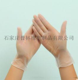 一次性PVC手套食品级透明无粉烘焙厨房烹饪用