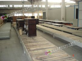 中山家具装配线佛山沙发生产线广州办公桌辊筒线