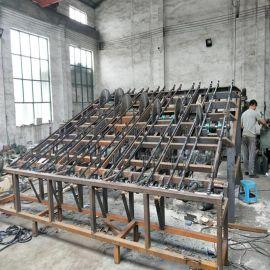 新款断木锯机 大型木材锯料机 多段锯
