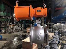 上海气动V型调节阀-大口径酸碱切断阀生产商