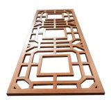木纹铝窗花厂家直销镂空铝单板装饰材料规格定制