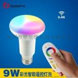 色温智能LED球泡灯厂家直销9W无极调光冷白暖白随意控制智能家居