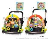 宝宝0-2岁布绒床铃床挂 婴儿车手推车挂件挂饰摇铃玩具
