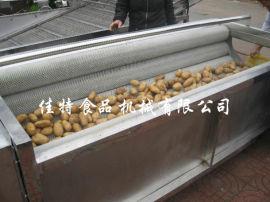 安徽土豆去皮清洗机 根茎类毛刷清洗机