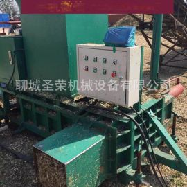 小型青贮秸秆打包机多少钱一台 液压机压块机