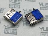 505-USB連接器 3.0母座90度