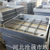 衡水不锈钢装饰井盖—草坪镀锌板隐形井盖
