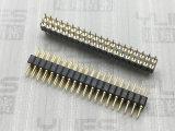 251-2.54mm 圆孔排针连接器 180度