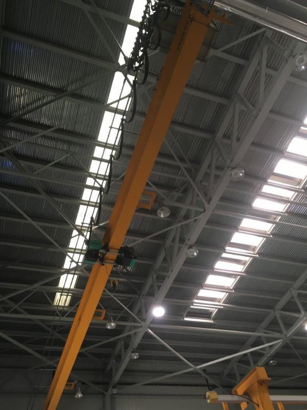 電動單樑起重機 懸掛單樑起重機 主樑+電動葫蘆起重機 單樑行車