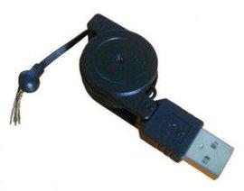 2.0版USB双拉伸缩线