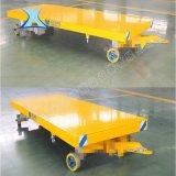山东厂家四轮牵引式平板拖车 大吨位车间挂车平板式牵引拖车