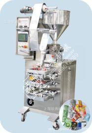 大量颗粒酱包装机油辣椒包装机。酱汁包装机。蒜泥包装机