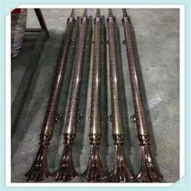 厂家生产订制拉手 不锈钢拉手 蚀刻花纹深红色拉手 大门拉手价格
