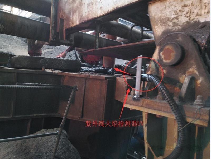 定製鍊鋼廠鍊鐵廠防爆烤包器熄火監測報警箱 滅火聯控裝置