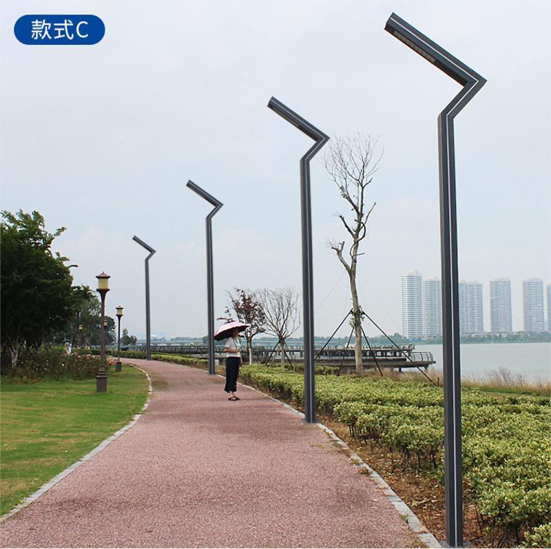 成都7字庭院灯厂家,四川铝型材路灯厂