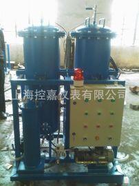 电厂主油箱脱水除杂质滤油机 高精度大流量滤油设备