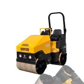 路得威驾驶式小型压路机2吨压路机双轮振动1700KgRWYL51BC双驱行走意大利马达驱动价格可议