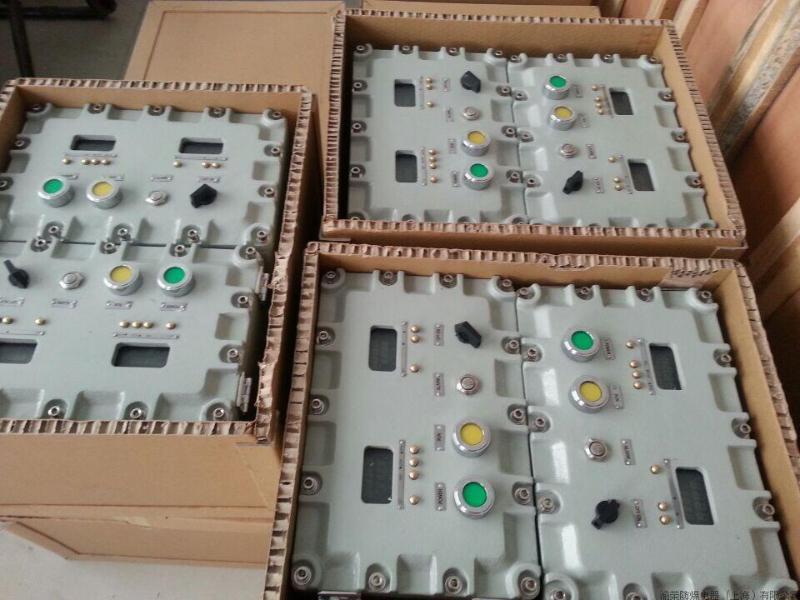 上海溶劑回收機專用聲光一體式防爆箱定做