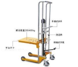平板式手动堆高车BT05411-BT05413
