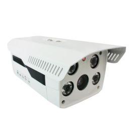 500万网络摄像机室外红外防水摄像机,四灯**夜视网络摄像机 大华外观