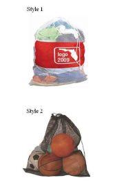 惠州手袋厂专业定做水果网袋 涤纶材质车缝工艺抽绳袋