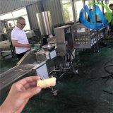 新型结构鱼肉条上浆机 全自动上浆机 鱼肉条油炸设备
