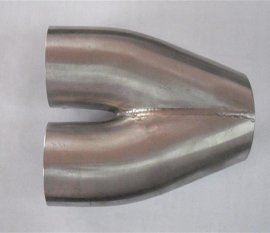 不锈钢汽车排气管 排气尾管 中段 金钢制品加工 金属管件