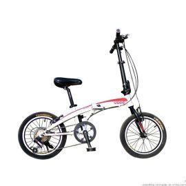 USEE优适折叠车 飞鱼系列铝合金变速 20寸男女通用便携折叠自行车