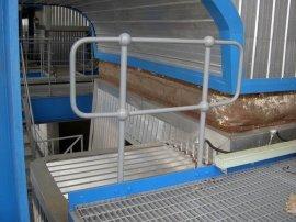 格棱美供应优质钢梯 扶手栏杆 平台格栅板