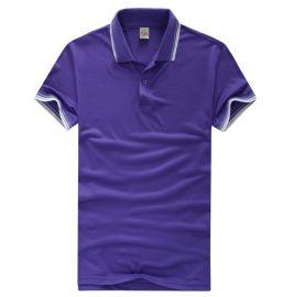 广州定制广告衫制作文化衫翻领t恤翻领空白广告衫
