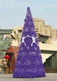 國外熱銷20m聖誕樹 聖誕掛件聖誕樹 led 大型聖誕樹燈光裝飾