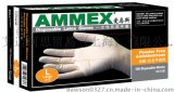 AMMEX爱马斯一次性无粉乳胶手套