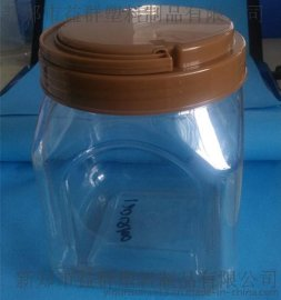 益群120Q100手提塑料方瓶,pet环保透明蜂蜜瓶塑料瓶