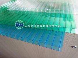 8mm双层阳光板 厂家直销 十年质保 8mm鲁西阳光板价格