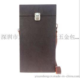 益訊单支装  盒 PU皮革    包裝盒   盒木质