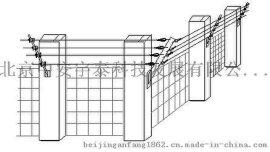 北京电子围栏高压电网AT-MC周界防盗报** 4线6线 高低压智能脉冲
