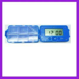 新品TIMESUN电子闹钟药盒 TX108B六格药盒