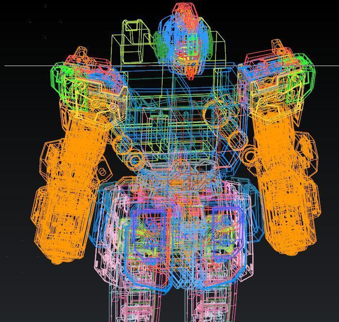 反向出圖、外觀造型、三維掃描、產品設計